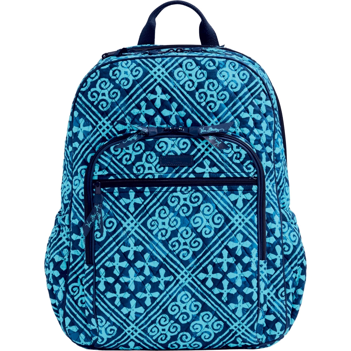 Vera Bradley Campus Tech Backpack Cuban Tiles Shop By