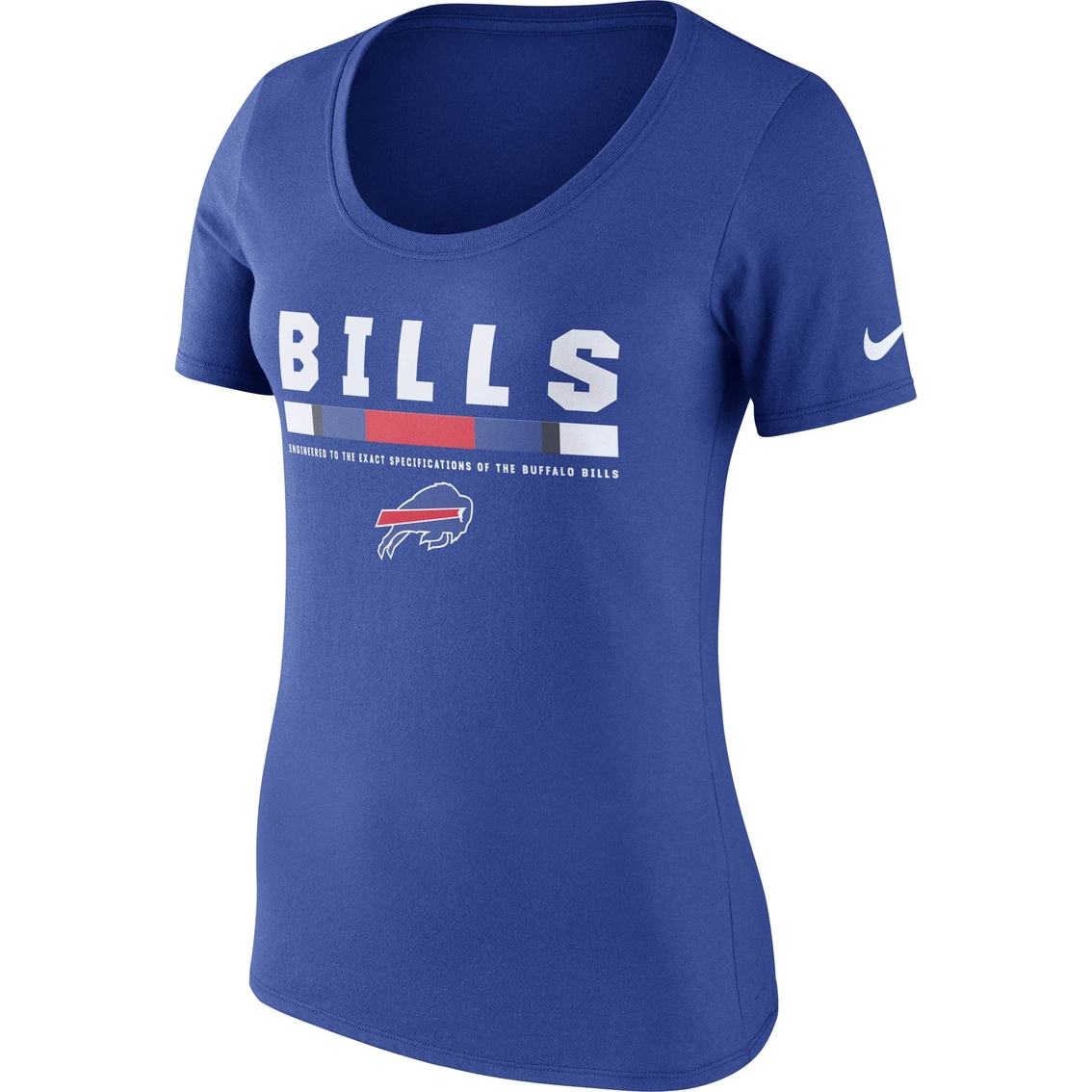 3141e357b72d0 Nike Nfl Buffalo Bills Women s Team Scoop Tee