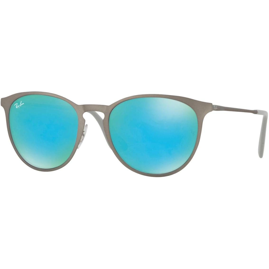 Ray Ban Mirrored Lens Wayfarer Metal Sunglasses Unisex Sunglasses