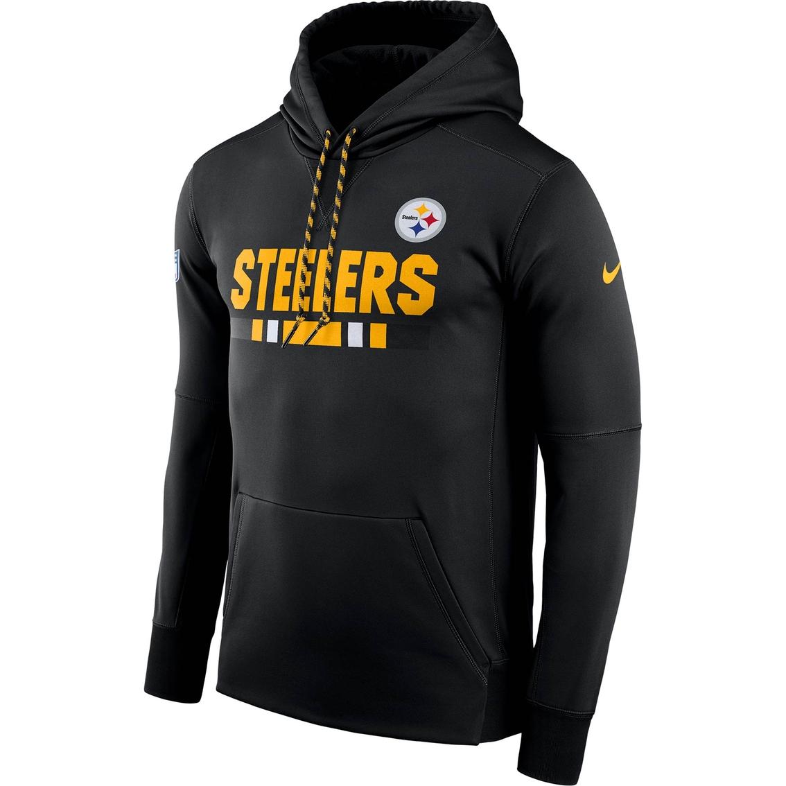 free shipping 10381 25bdc Nike Nfl Pittsburgh Steelers Therma Hoodie   Hoodies ...