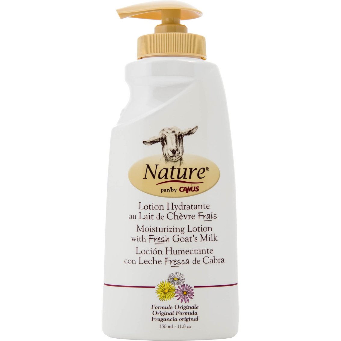 Nature By Canus Moisturizing Lotion With Fresh Goat S Milk Original