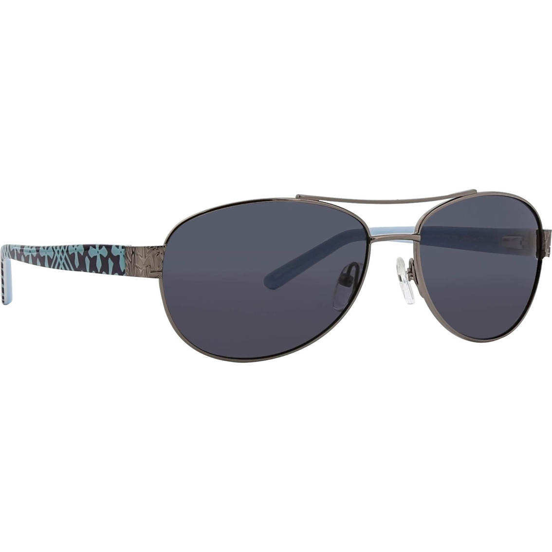f8fb2dde3 Vera Bradley Marlene Metal and Plastic Aviator Polarized ANSI Z80.3  Sunglasses
