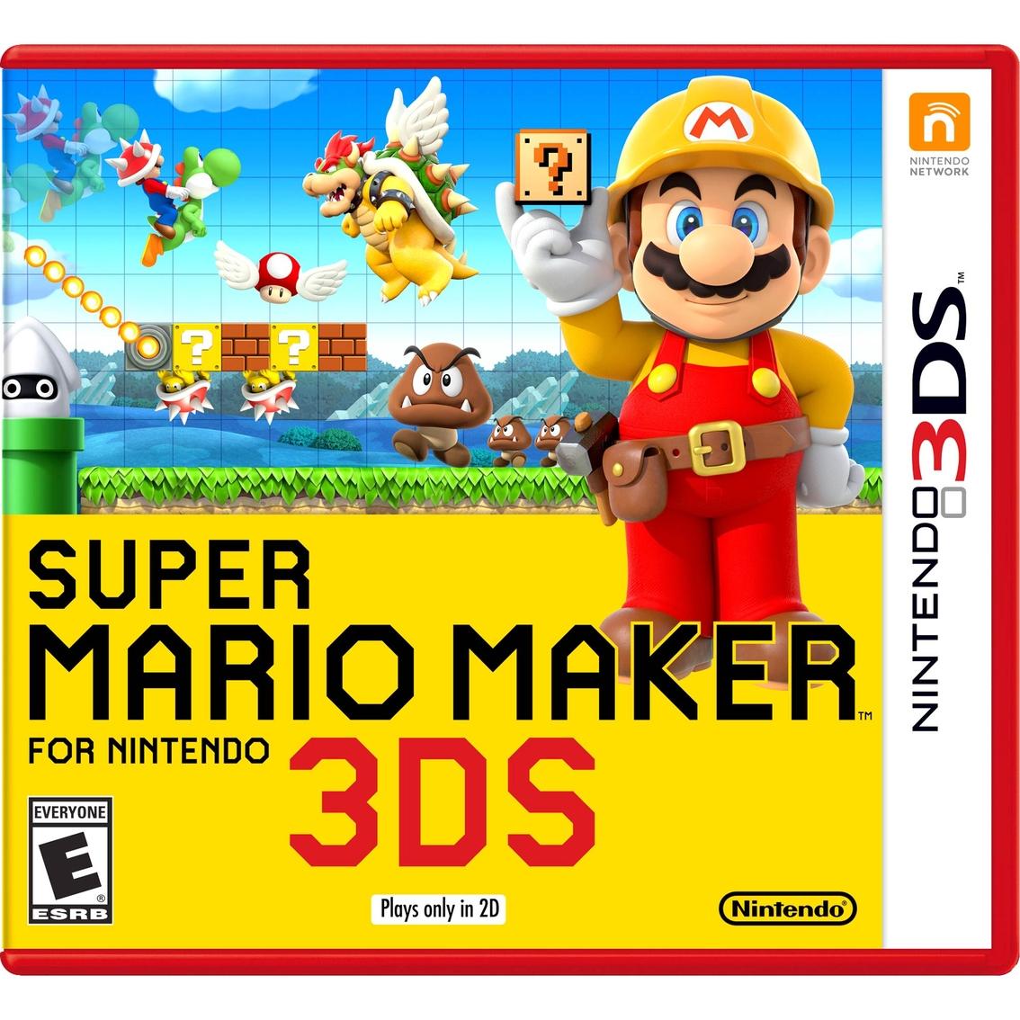 Super Mario Maker Game (nintendo 3ds)   3ds Video Games ...