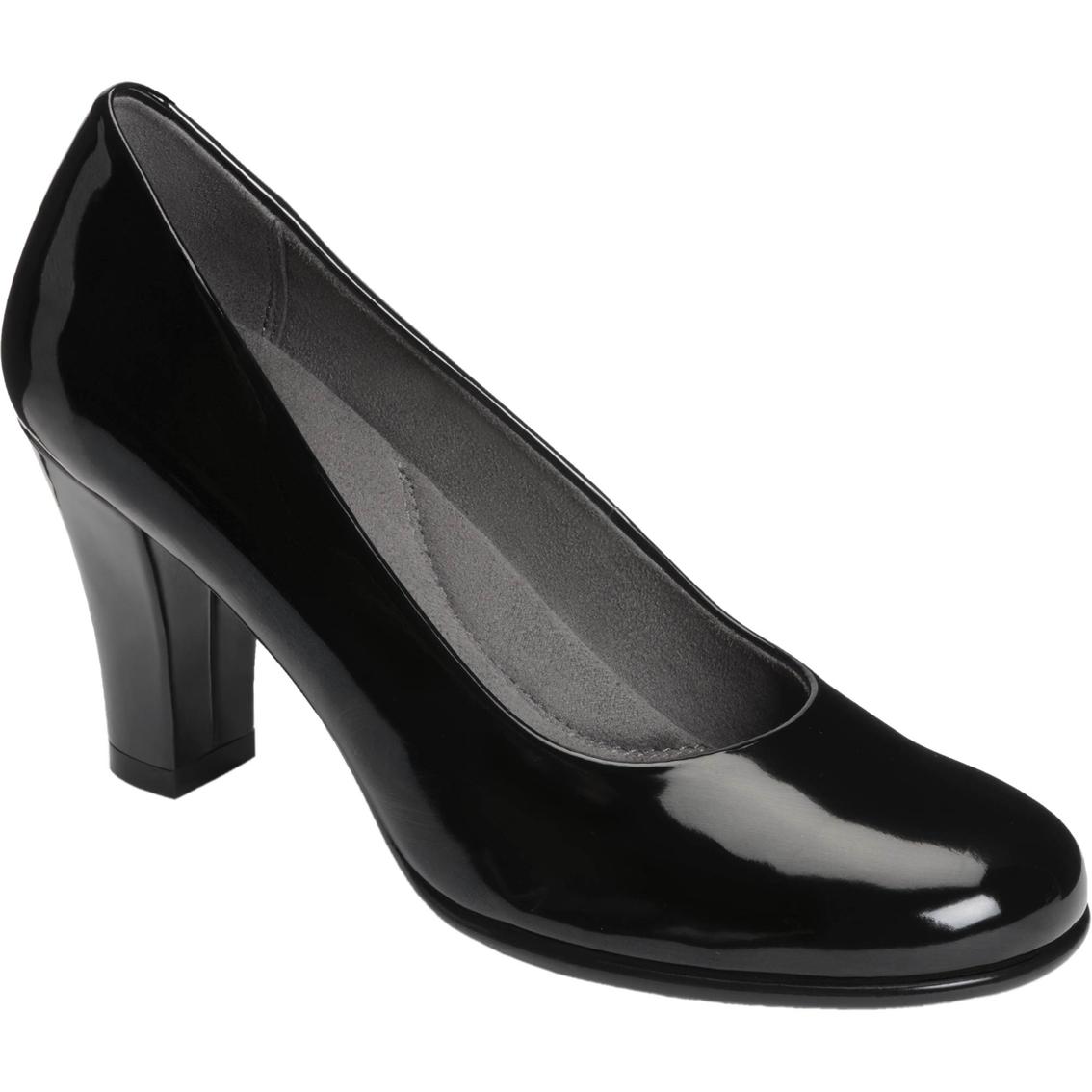 932e2275c79 Aerosoles Major Role Covered Heel Pumps | Rounded-toe | Shoes | Shop ...