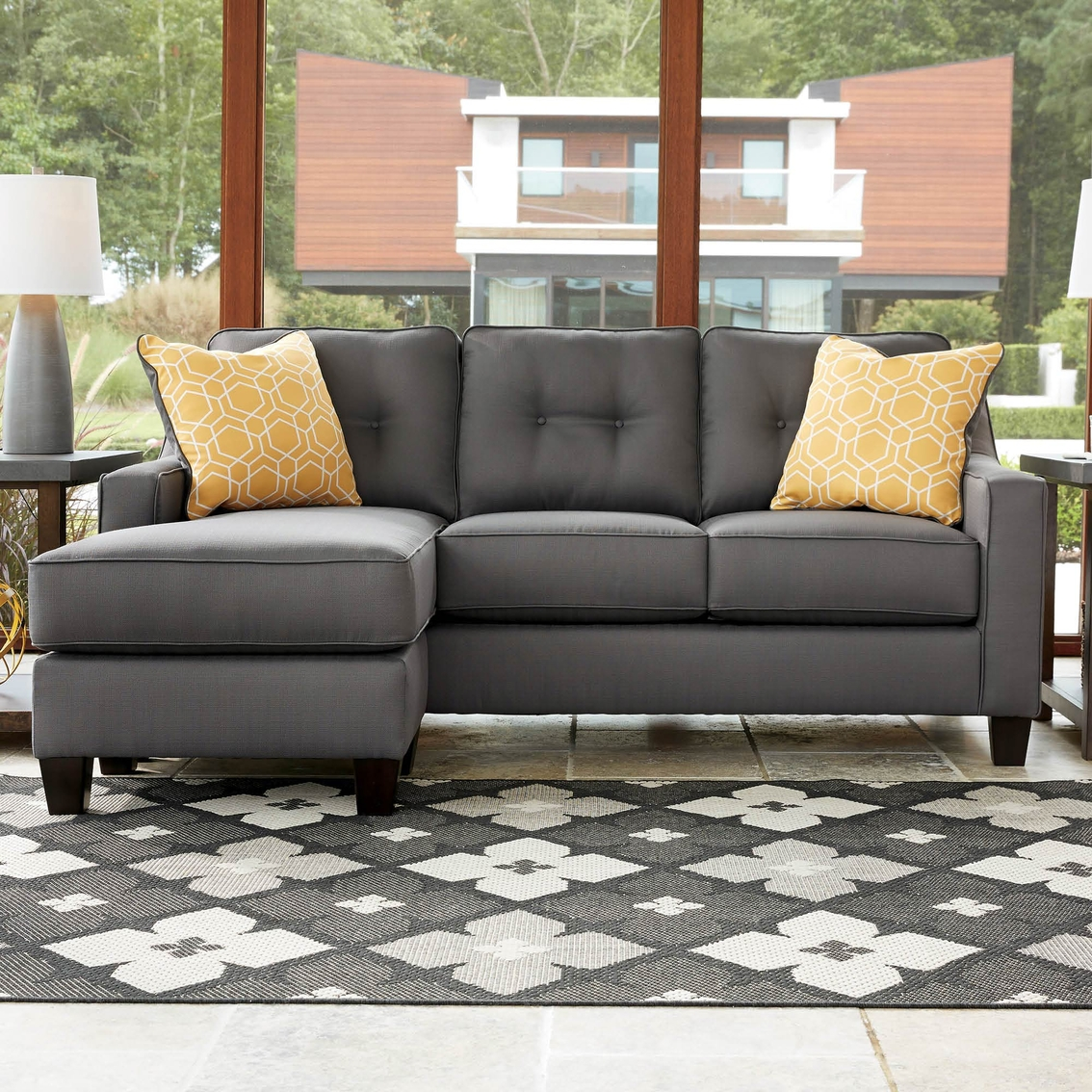 Benchcraft Aldie Nuvella Sofa Chaise Sofas Amp Couches