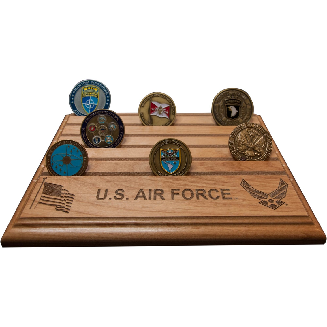 Mi Engraving Air Force 8 X 10 Coin Holder | Coins & Cases | Gifts