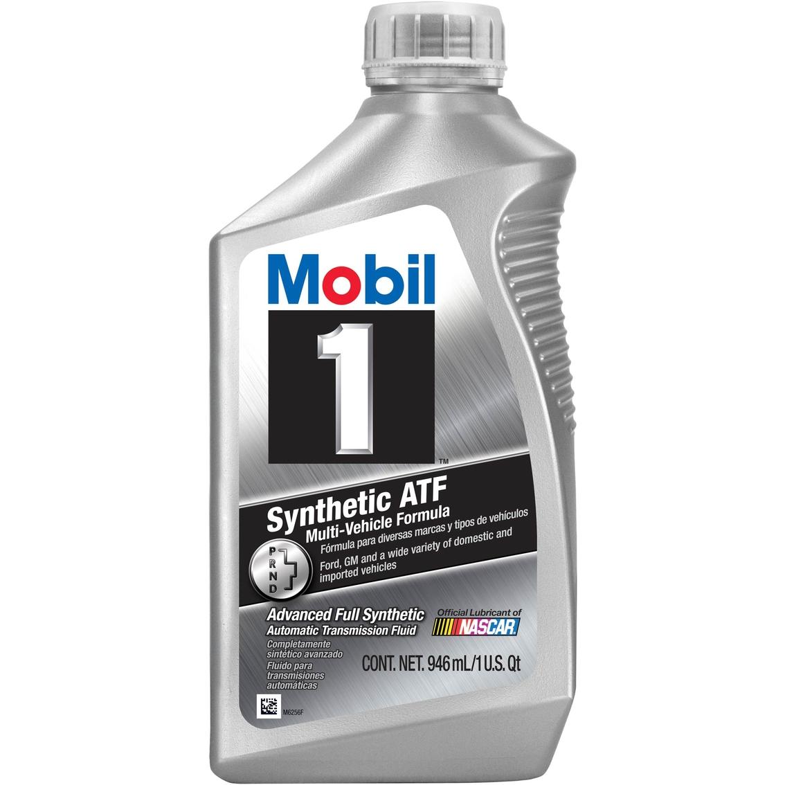 Mobilfluid Automatic Transmission Fluid : Mobil synthetic atf automatic transmission fluid qt
