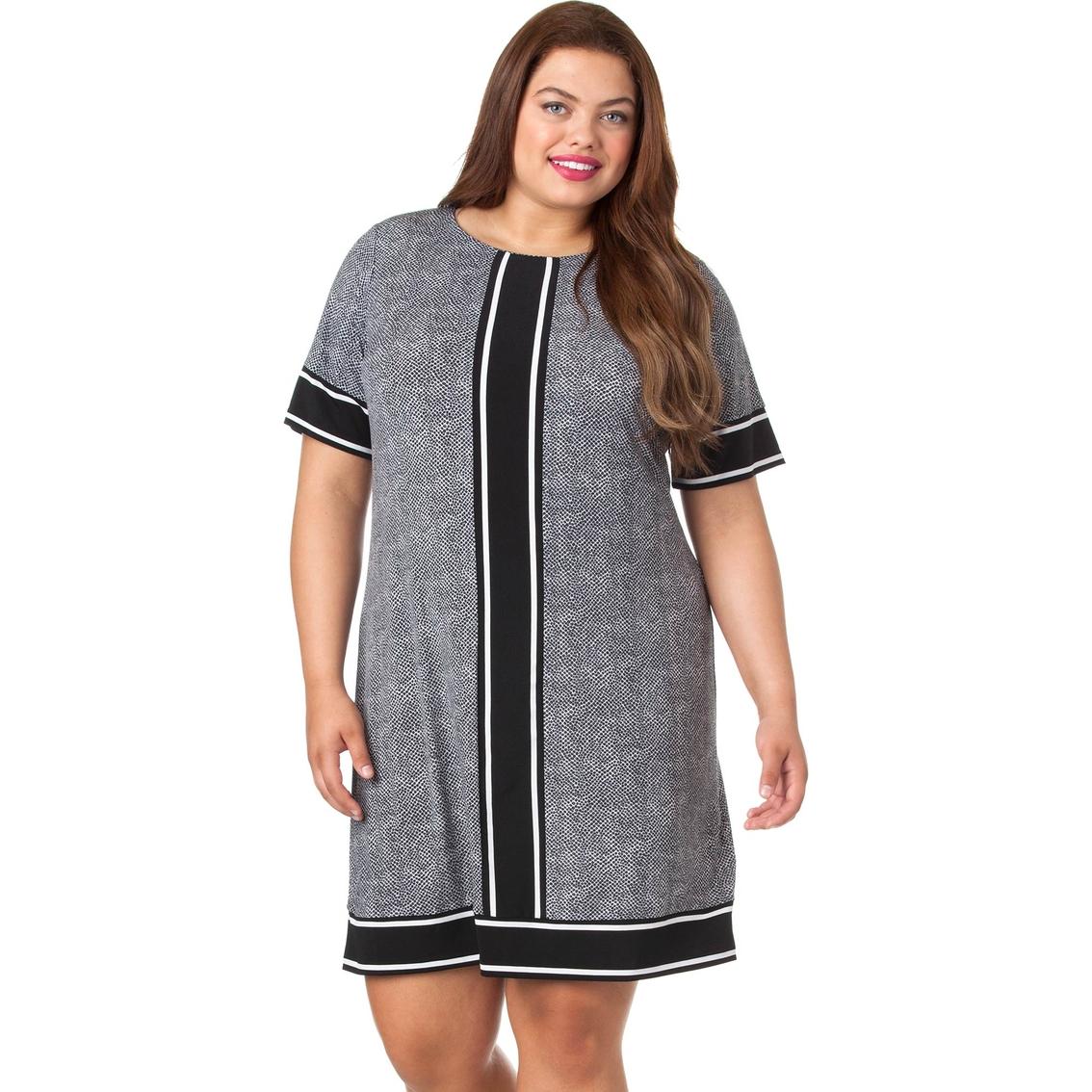 355d0e5b82c Michael Kors Plus Size Stingray Border Dress