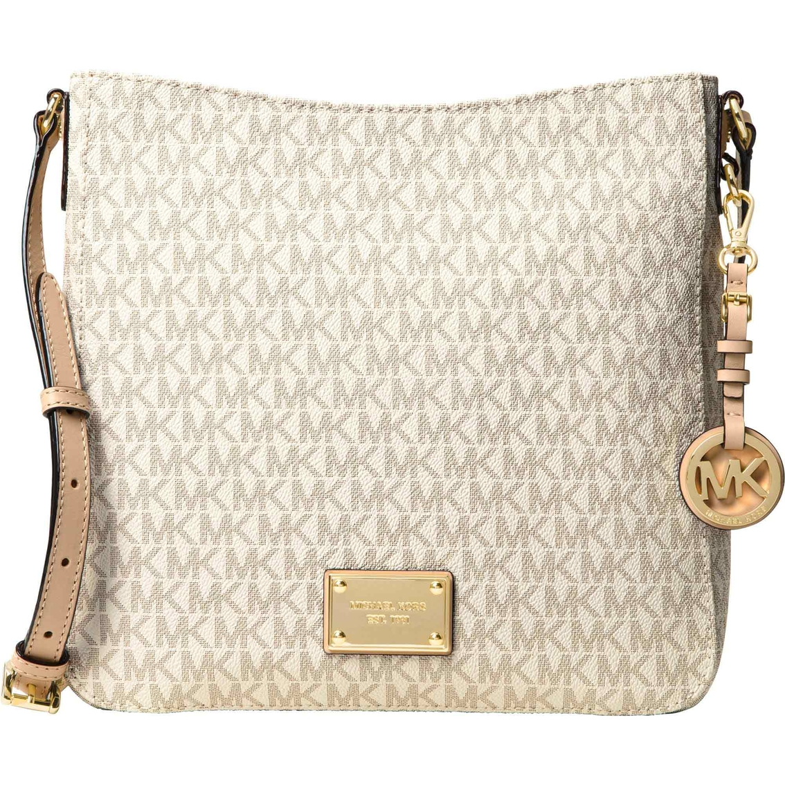 8d483d17ba1b Michael Kors Jet Set Travel Large Messenger Handbag