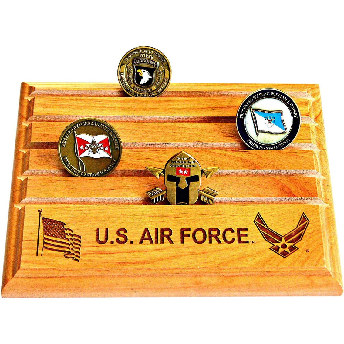 Mi Engraving Air Force 7 X 9 Coin Holder | Coins & Cases | Gifts