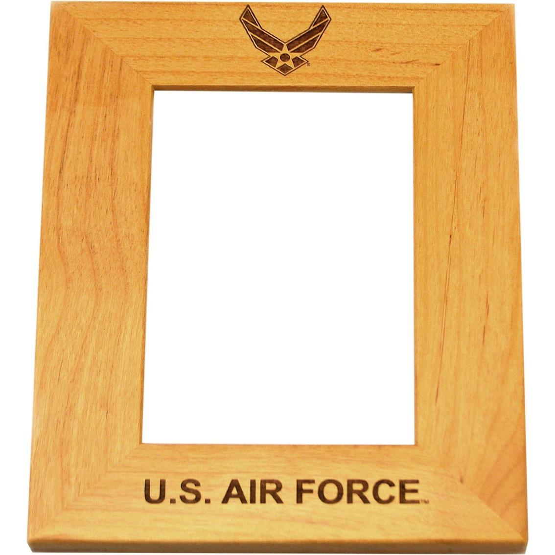 Mi Engraving Air Force 5 X 7 Wood Photo Frame | Frames | Home ...