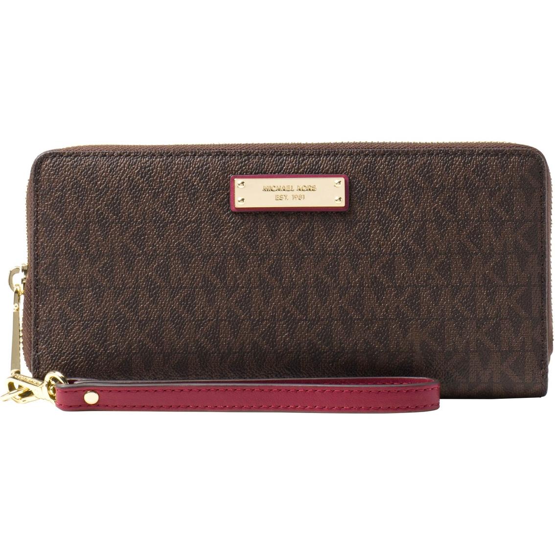 3e9945e580cf Michael Kors Jet Set Travel Continental Wristlet | Handbags | Shop ...
