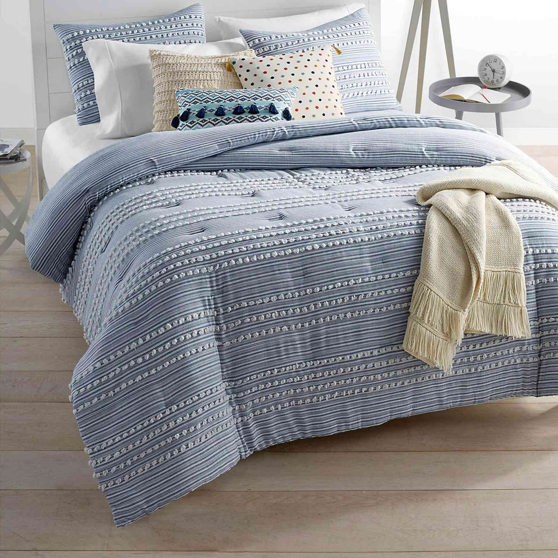 Martha Stewart Collection Whim Connect The Dots Comforter