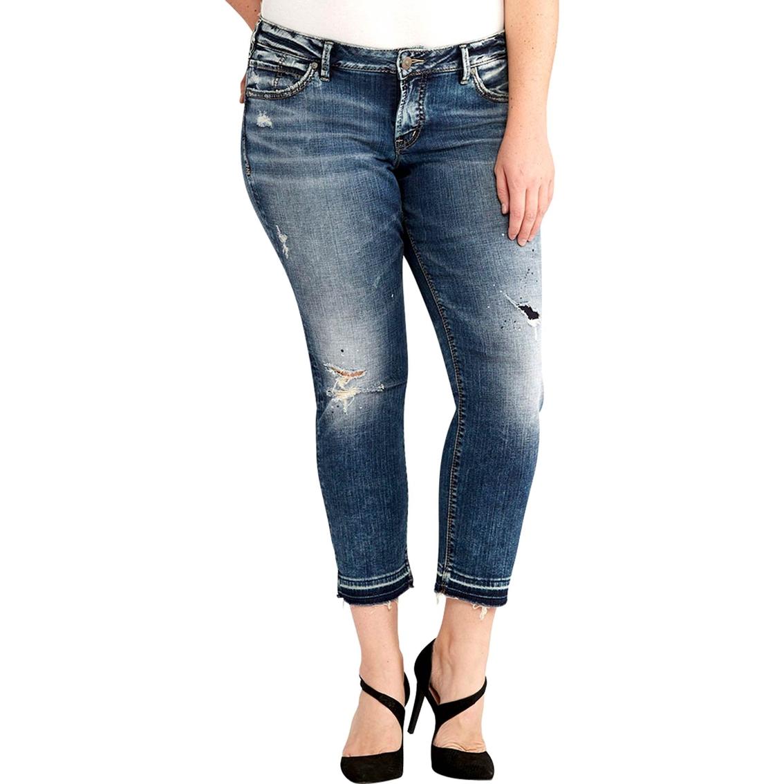 Silver Jeans Plus Size Sam Boyfriend Jeans Jeans