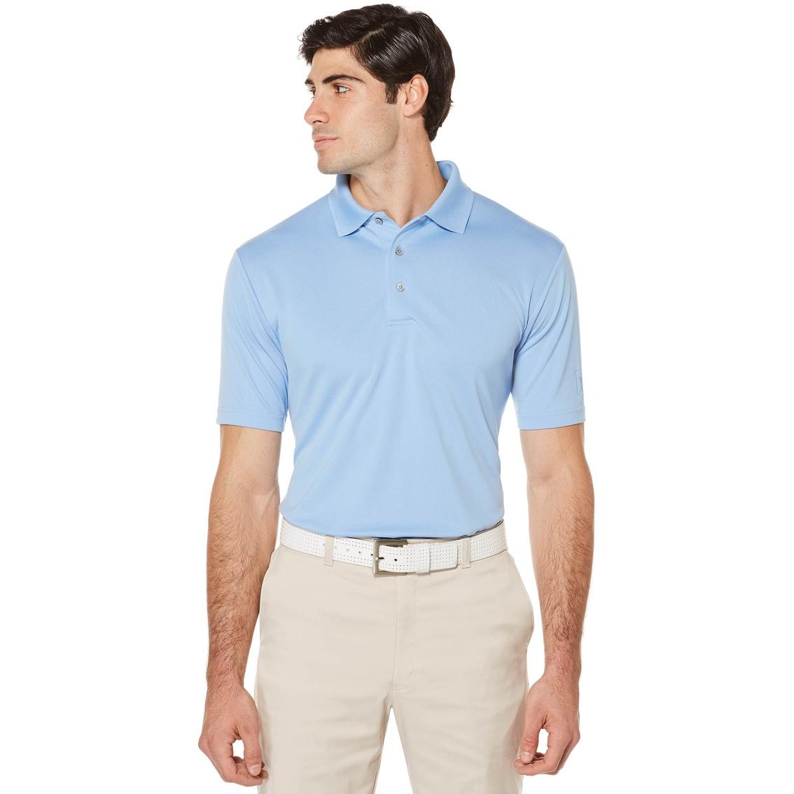 pga tour golf performance solid polo shirt