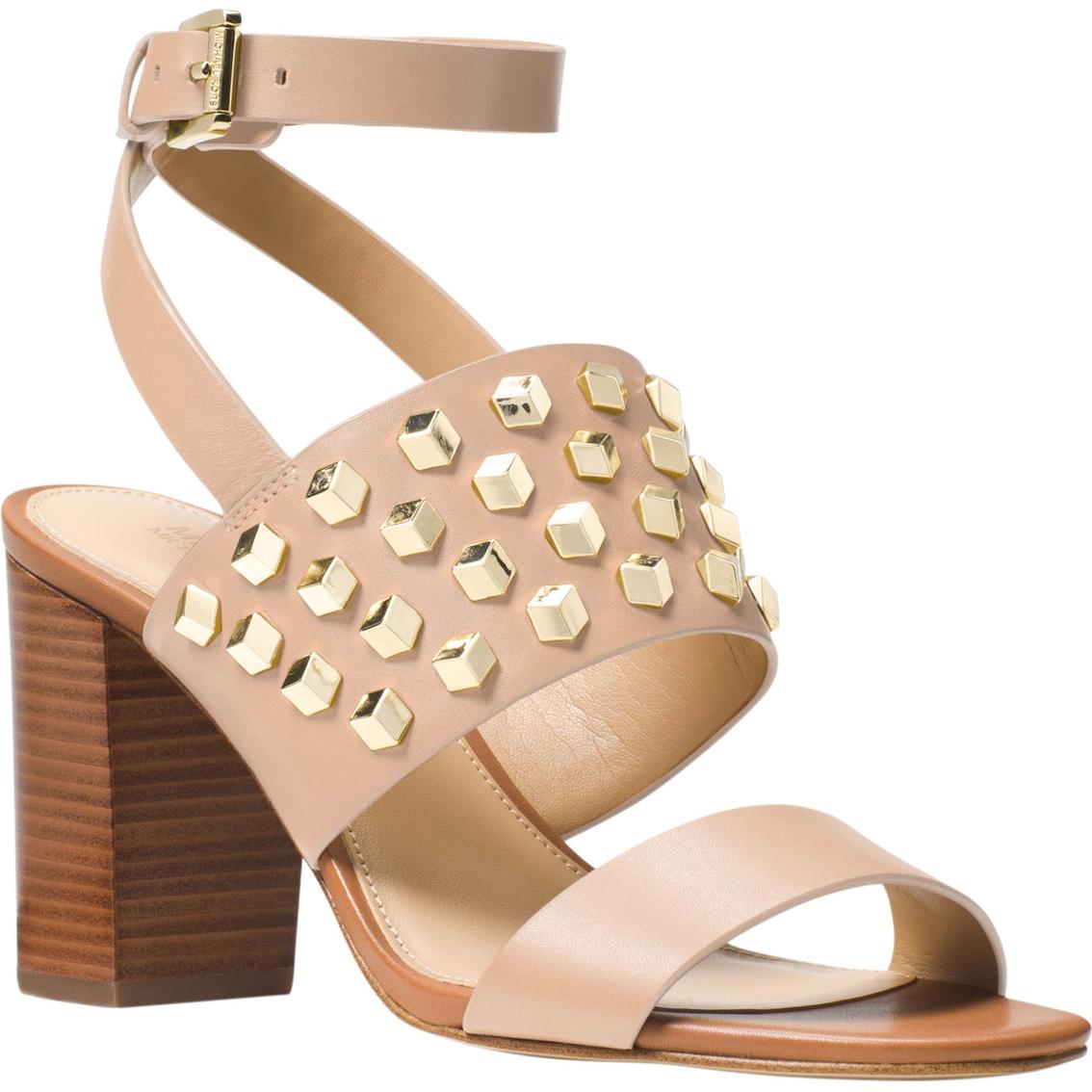 3019fcf41c708 Michael Kors Valencia Ankle Strap Stud Shoes
