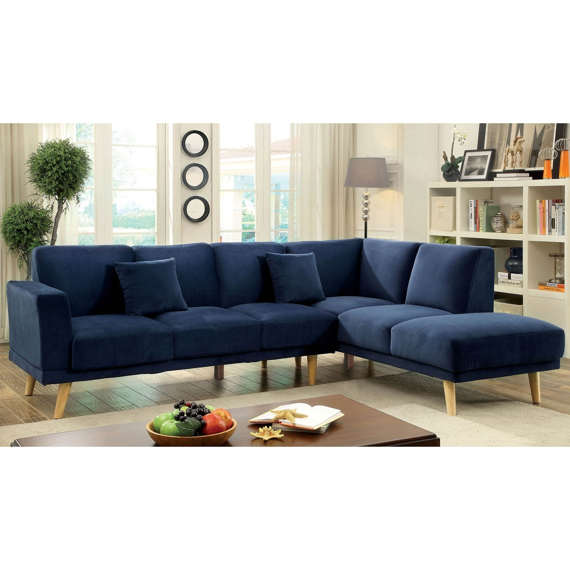 Furniture Of America Hagen Sectional Sofas Couches Home Appliances Shop The Exchange