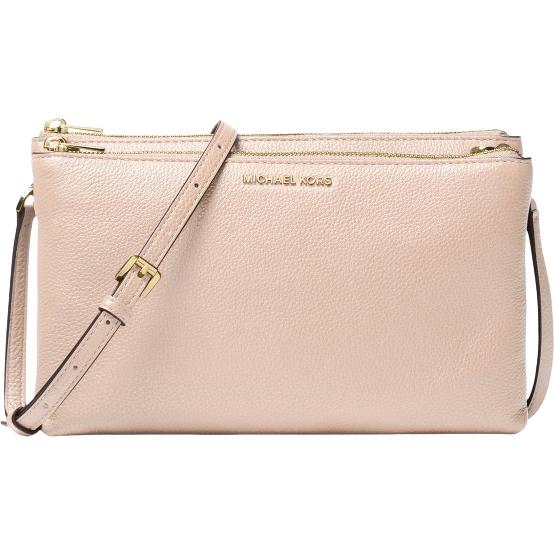 Michael Kors Adele Double Zip Crossbody Handbag  26d8eb79cb631