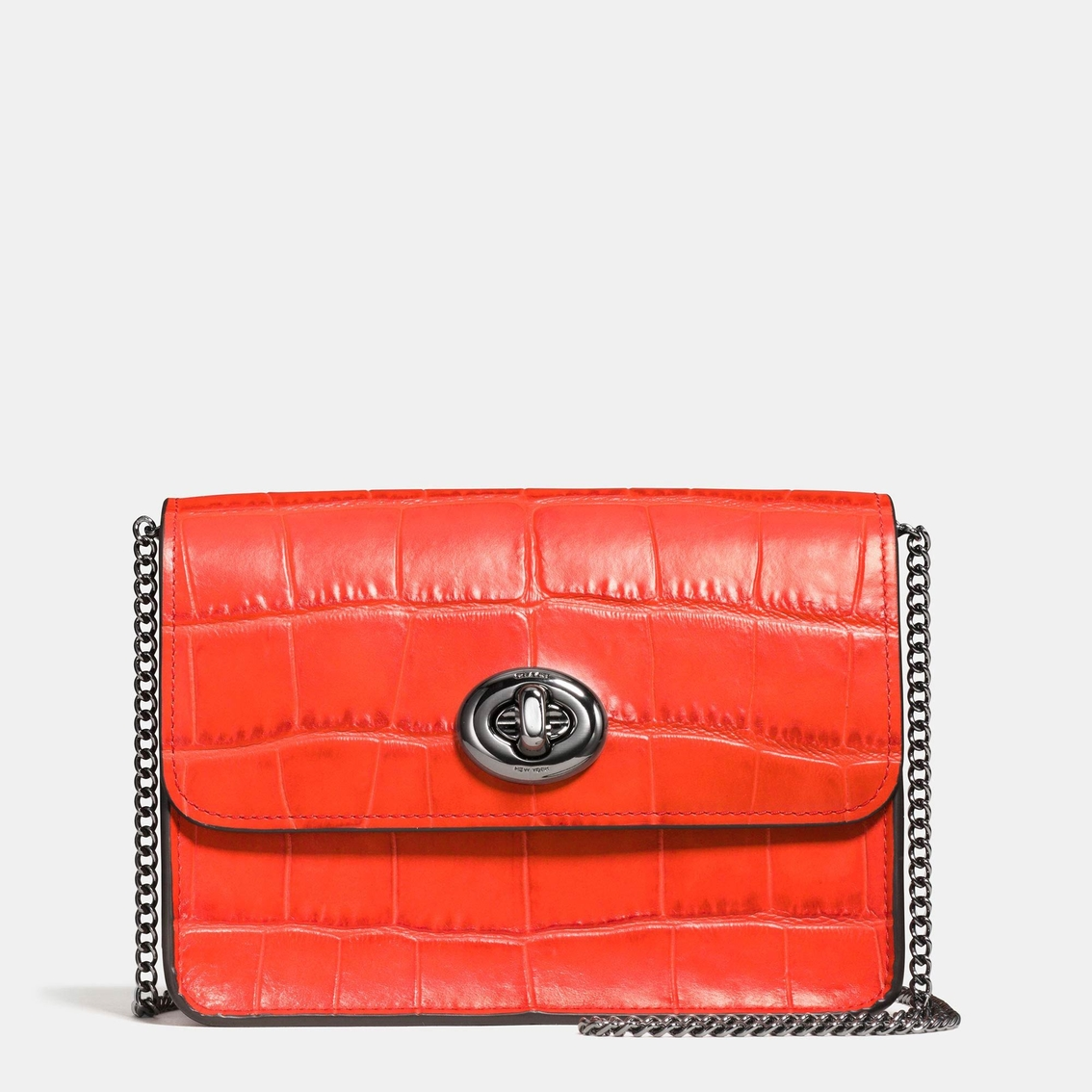 5d7d060acca5 Coach Bowery Crossbody In Croc Embossed Leather | Crossbody Bags ...
