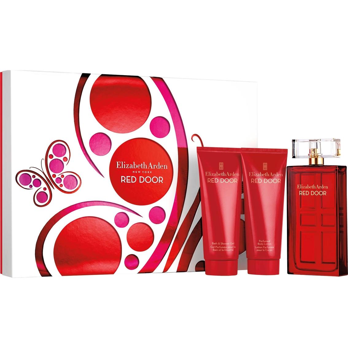Elizabeth Arden 3 Pc Red Door Gift Set Fragrance Beauty