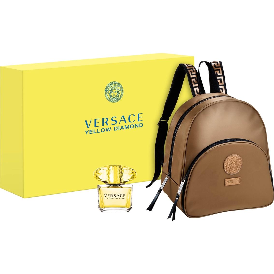 Versace Yellow Diamond Eau De Toilette And Backpack Gift Set  81d5b06cc9bc3