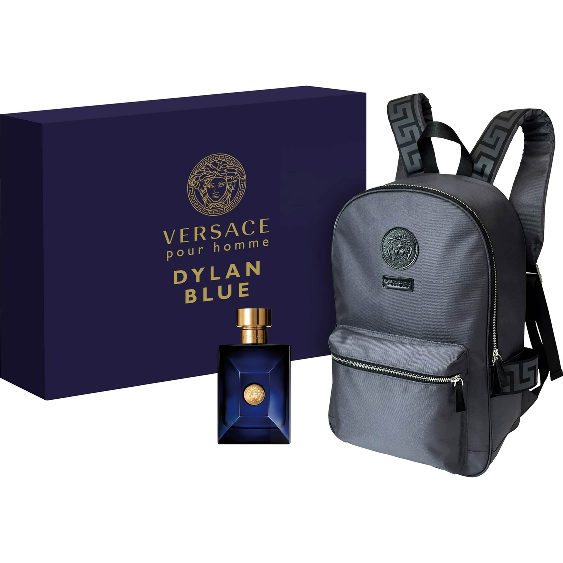 59a66199df33 Versace Dylan Blue Eau De Toilette And Backpack Gift Set