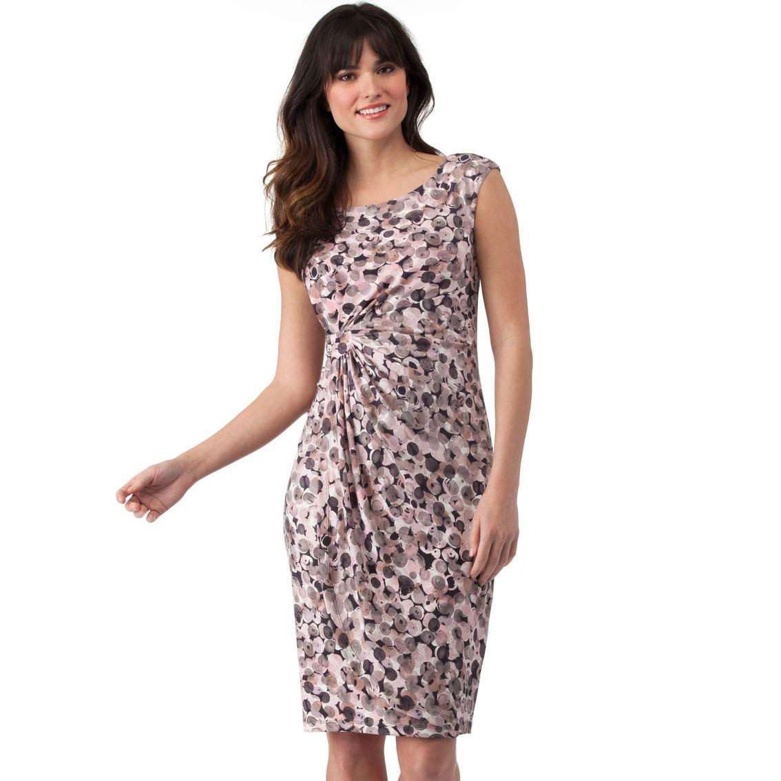 2a26af4b Connected Apparel Bubble Dot Print Sheath Dress | Dresses | Apparel ...