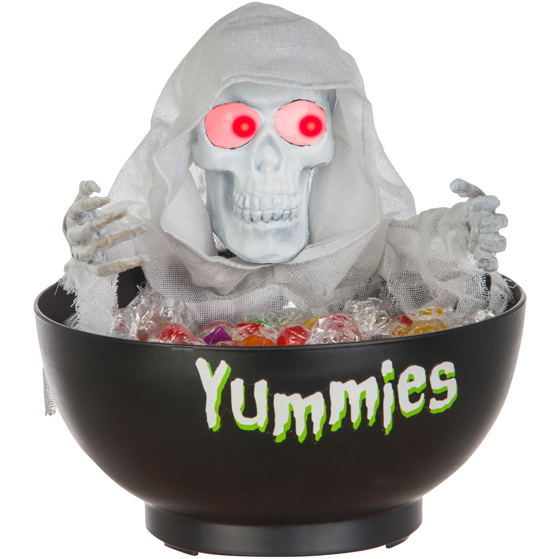 Gemmy Animated Candy Bowl Ghost Kitchen Tabletop Household Shop The Exchange