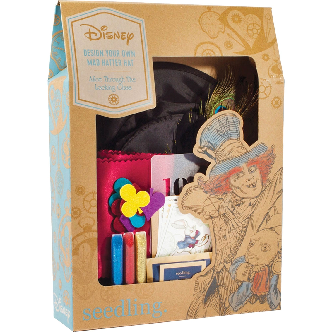 Seedling Design Your Own Mad Hatter Hat Kit Craft Kits Baby Toys Shop The Exchange