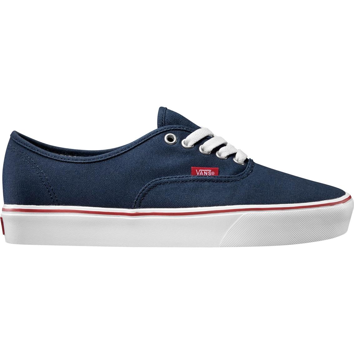 Vans Men's Authentic Lite Dress Blue Lifestyle Shoes   Sneakers ...