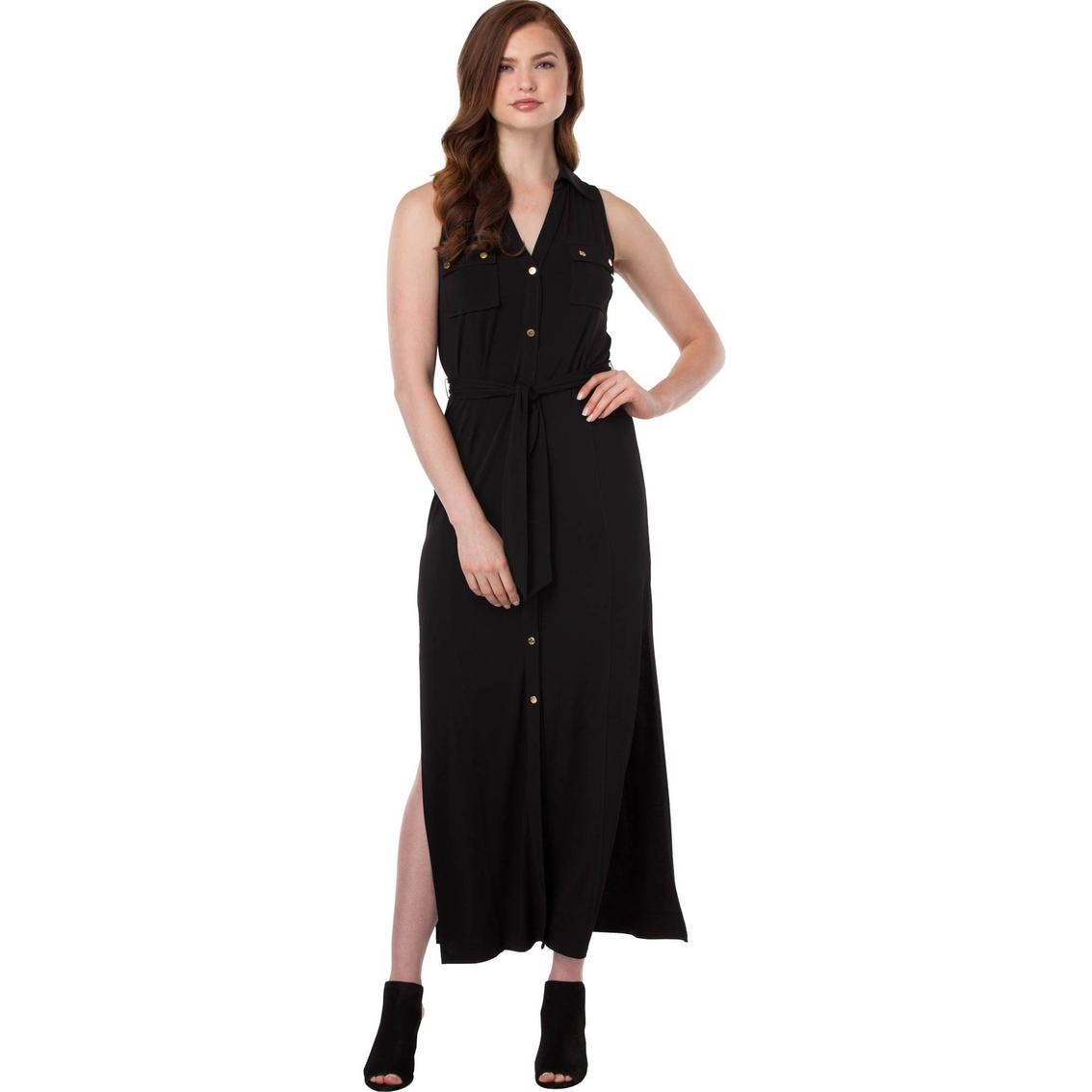 c630ef78d2b Michael Kors Petite Matte Jersey Maxi Shirt Dress | Dresses ...