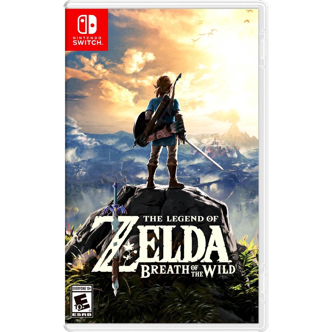 The Legend Of Zelda Breath Of The Wild nintendo Switch ...