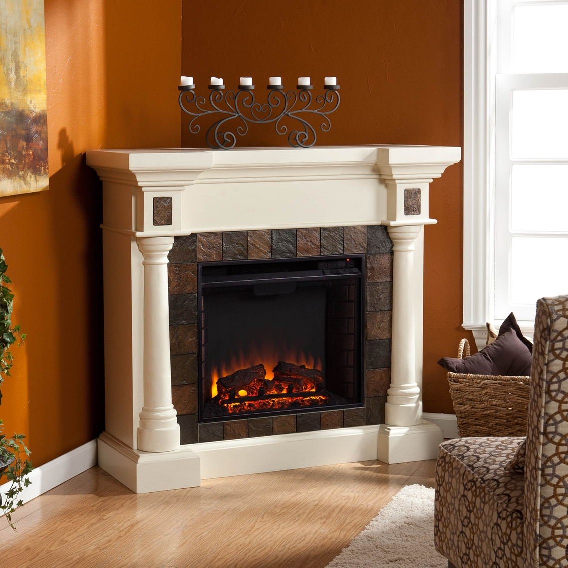 Sei Electric Fireplace Images Gallery