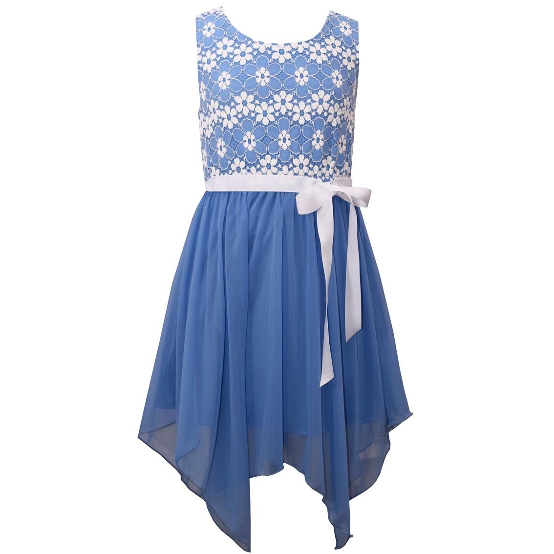 009fa3922 Bonnie Jean Little Girls Lace Bodice Sharkbite Dress | Girls 4-6x ...