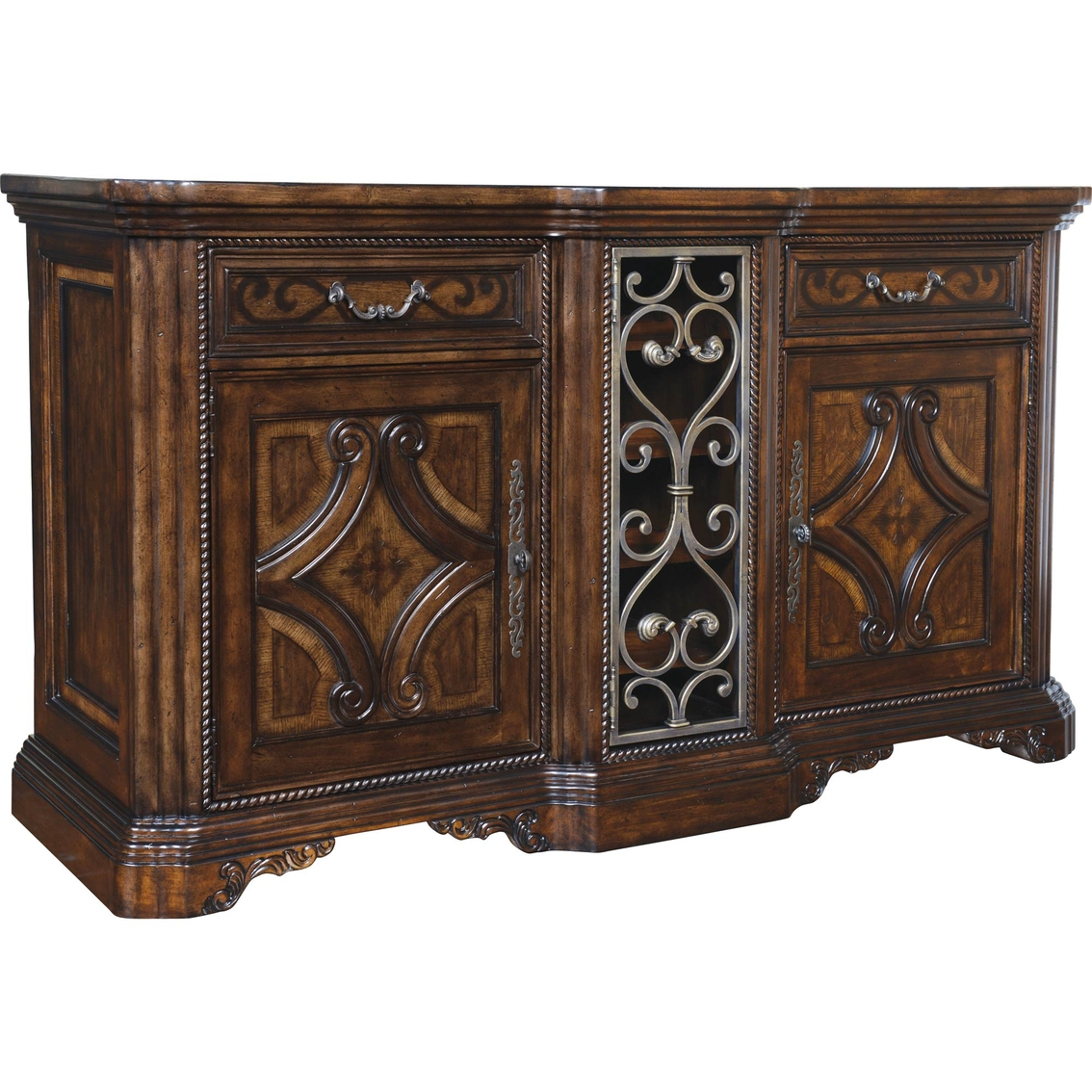 Art furniture valencia buffet dining storage home for Hometown furniture exchange