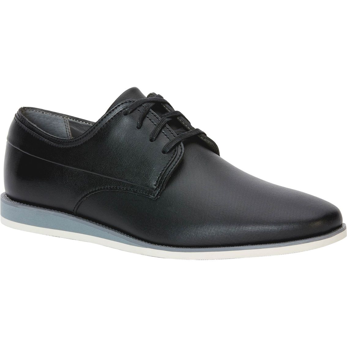 Calvin Klein Kellen Emboss Leather Dress Casual Sneakers