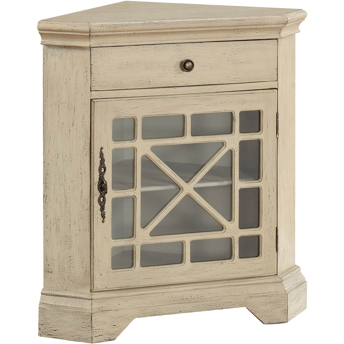 Coast To Coast Accents Corner Accent Cabinet Bookcases