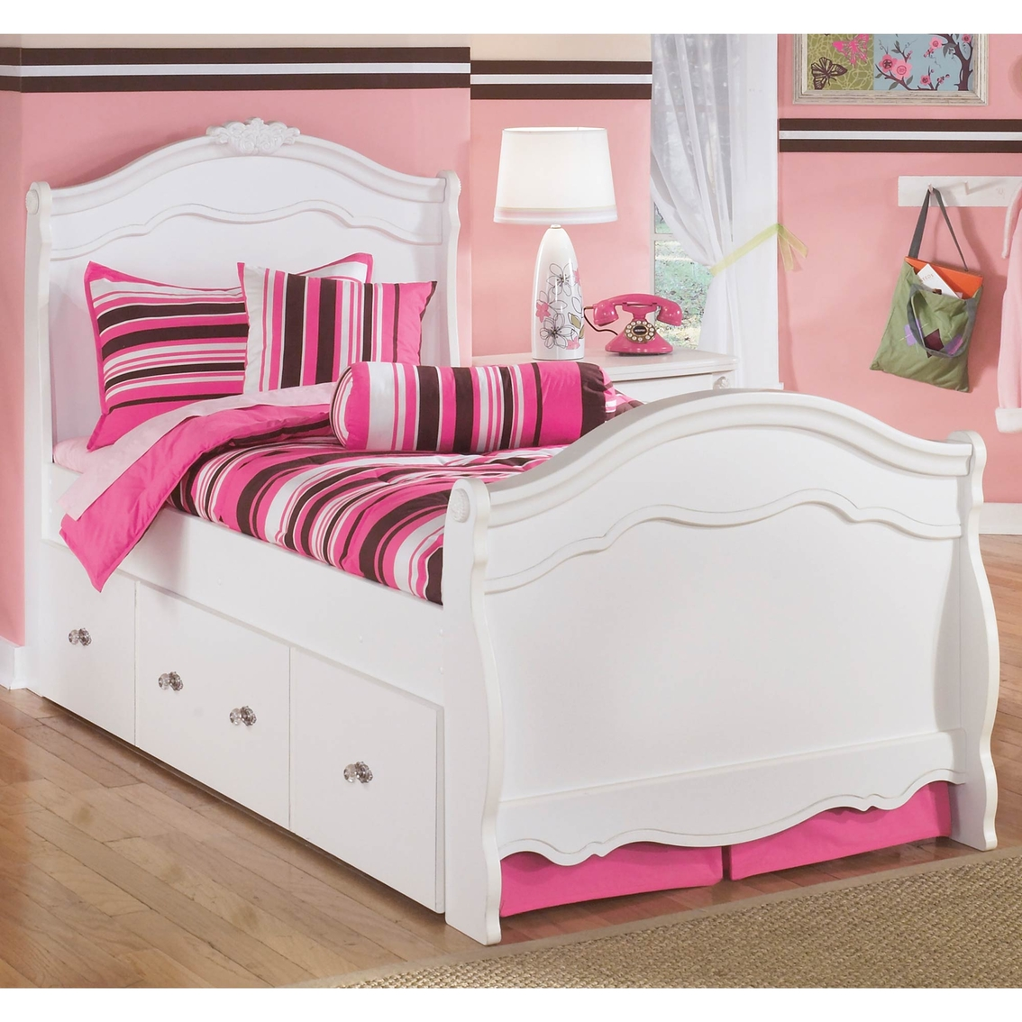 Signature Design By Ashley Exquisite Trundle Bed Beds Home Appliances Shop The Exchange