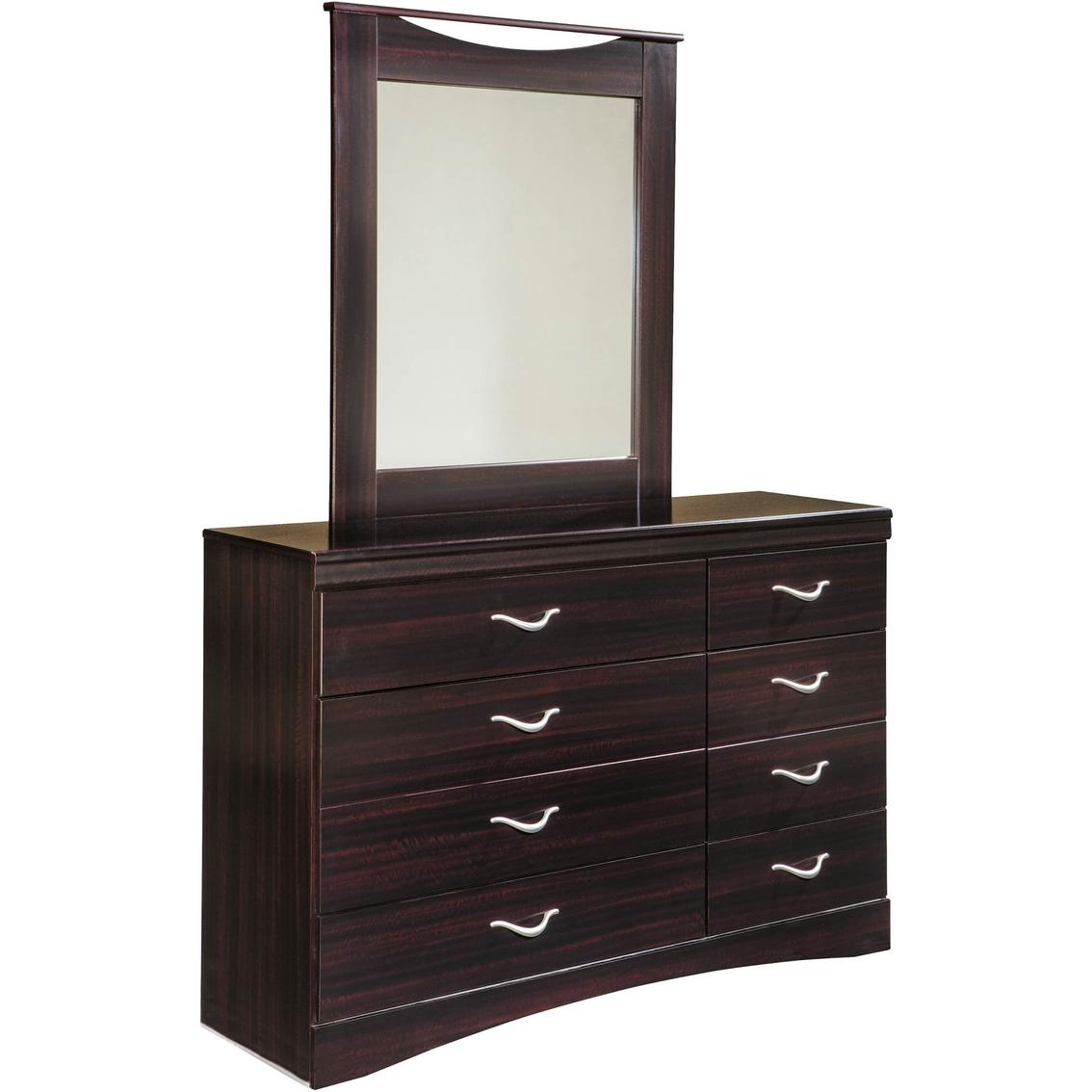 Signature Design By Ashley Zanbury Dresser And Mirror Set