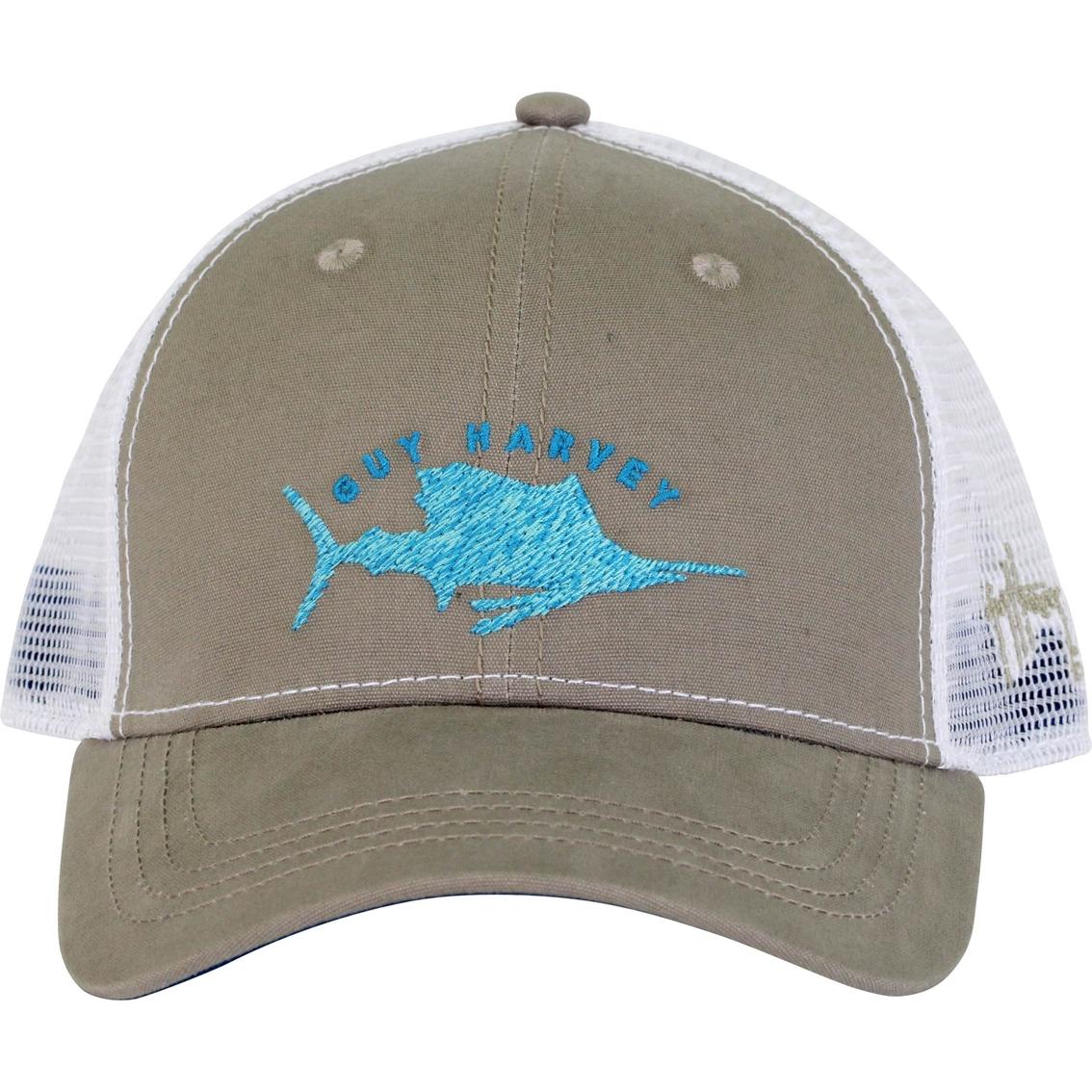 c799ee2cc054a Guy Harvey Streaker Trucker Hat