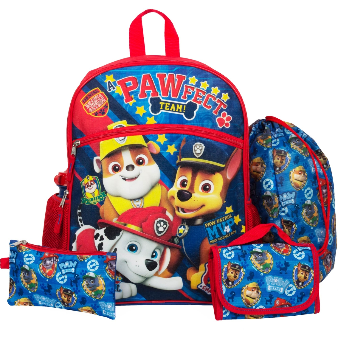 Finest Nickelodeon 5 Pc. Paw Patrol Backpack Set | Backpacks | More  AR14