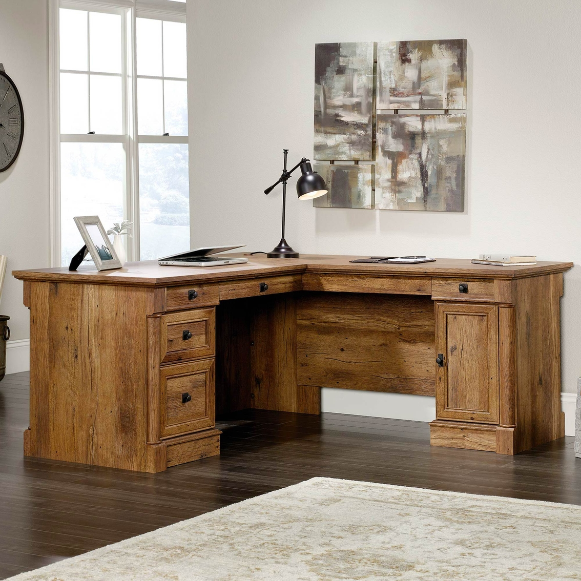 Sauder Palladia L Shaped Desk