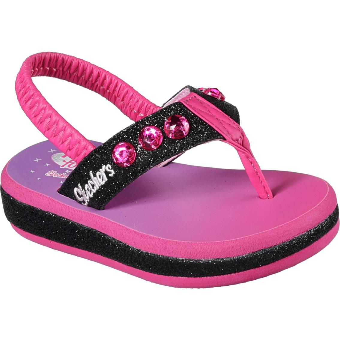ce1025776978 Skechers Toddler Girls Twinkle Toe Sunshine Sandals