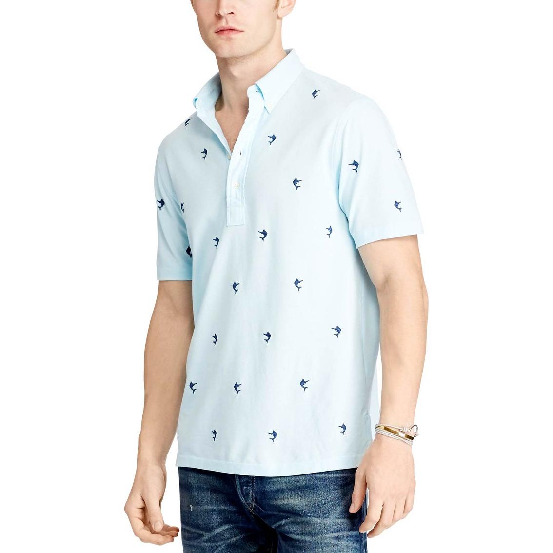ad574798b209f Polo Ralph Lauren Hampton Marlin Embroidered Shirt