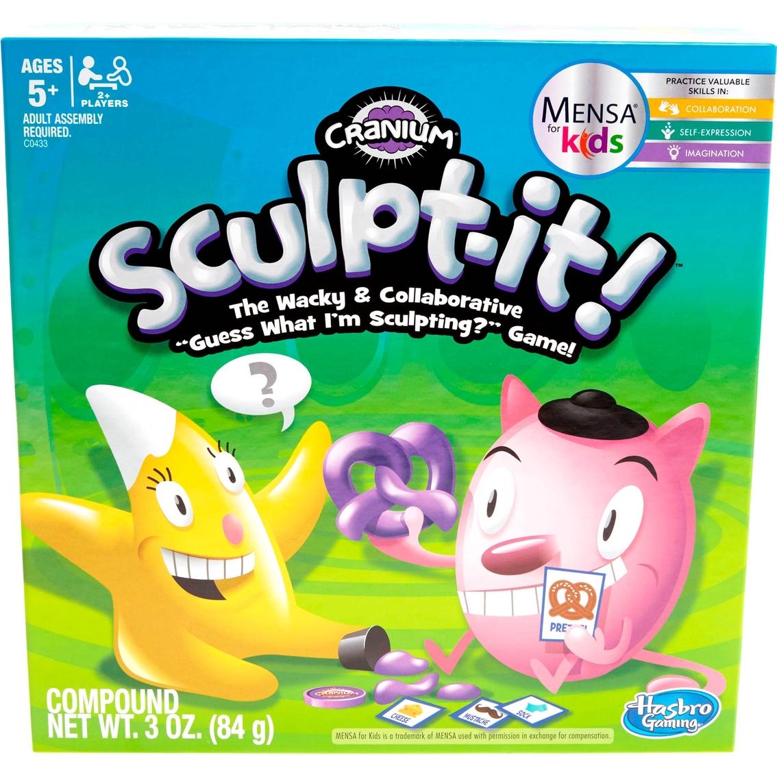Hasbro Cranium Sculpt It Game Games Baby Toys Shop The Exchange