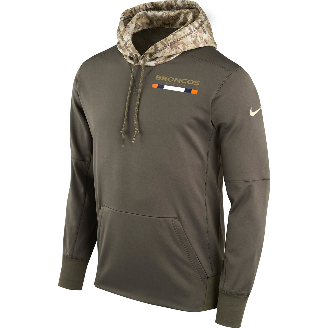 innovative design c2ea0 557d7 Nike Nfl Denver Broncos Salute To Service Hoodie | Hoodies ...
