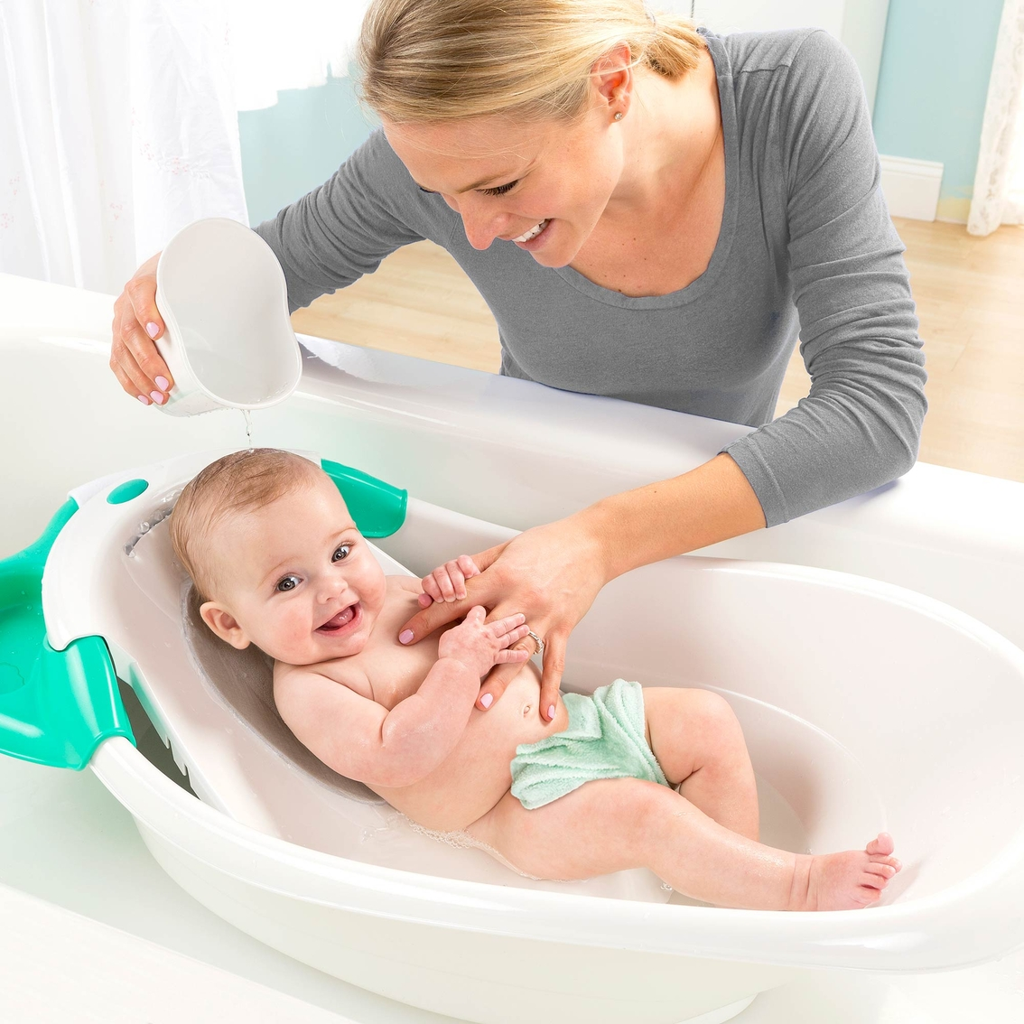 Summer Infant Warming Waterfall Bath Tub   Tubs   Baby & Toys   Shop ...