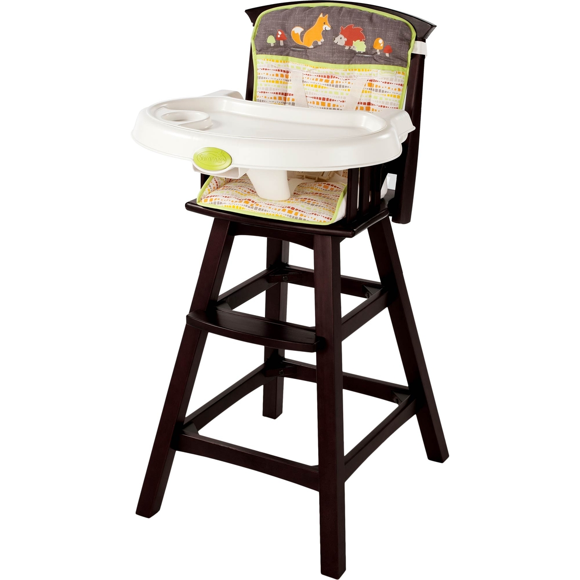 Summer Infant Classic Comfort Wood High Chair Fox & Friends