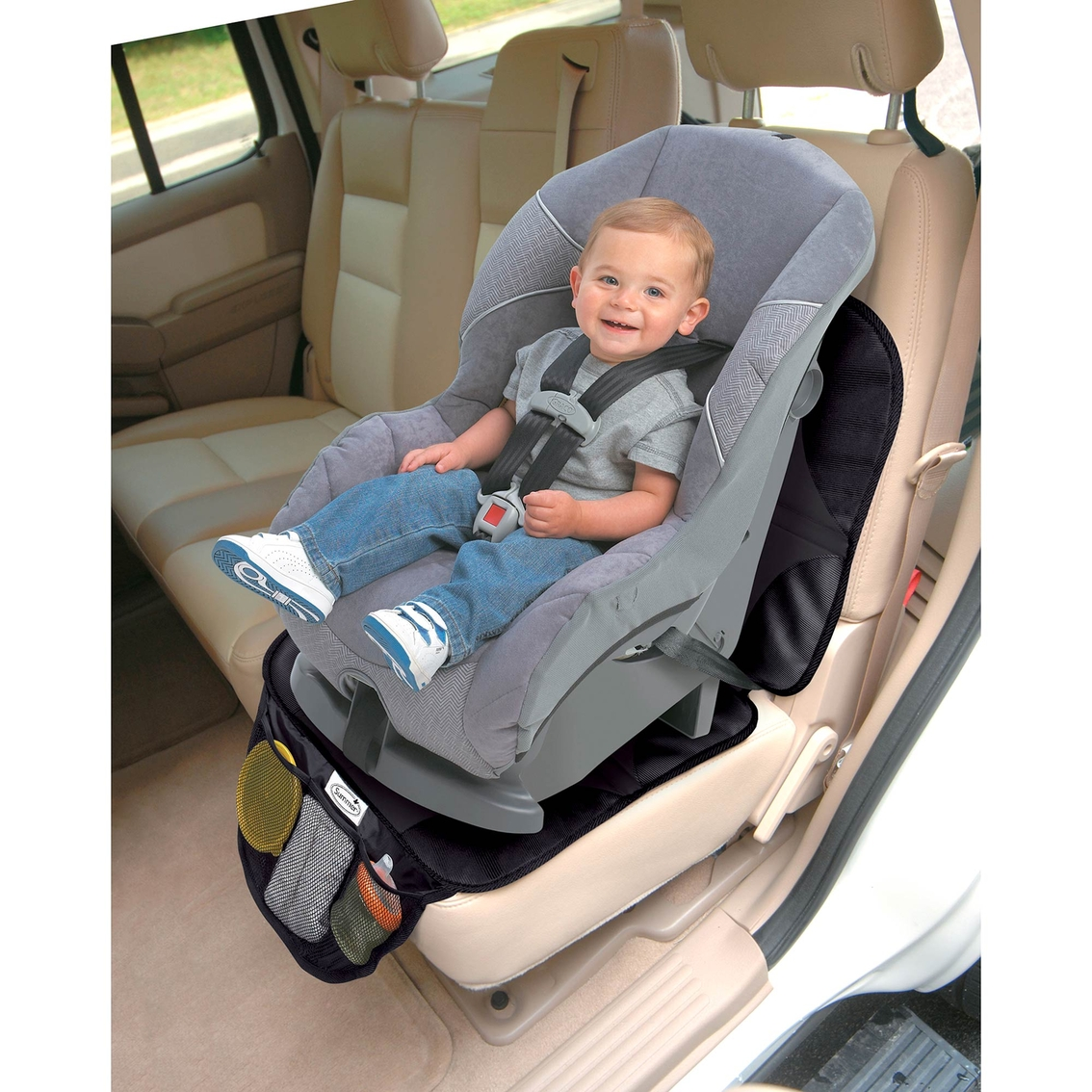 New Infant Baby Easy Clean Non Skid Waterproof Car Seat Protector Mat Duomat