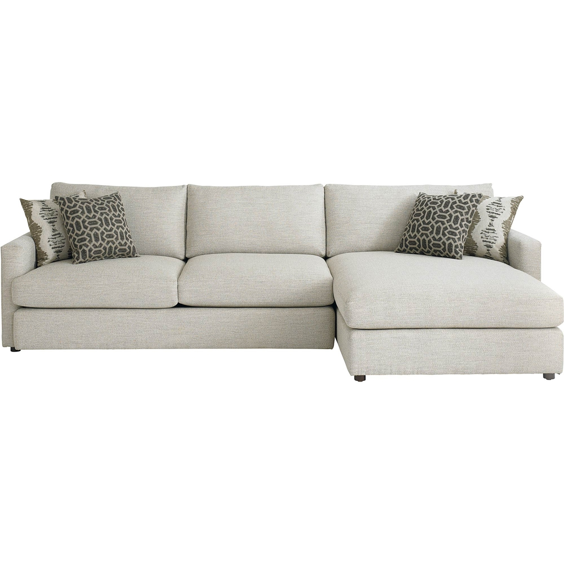Bassett Allure 3 Pc Sectional Sofas Amp Couches